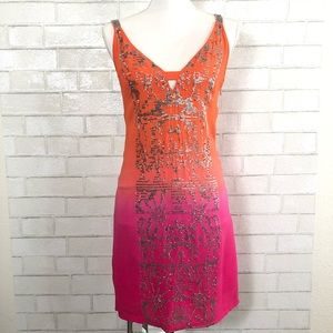 YOANA BARASCHI Sequin Ombre Sunset Dress